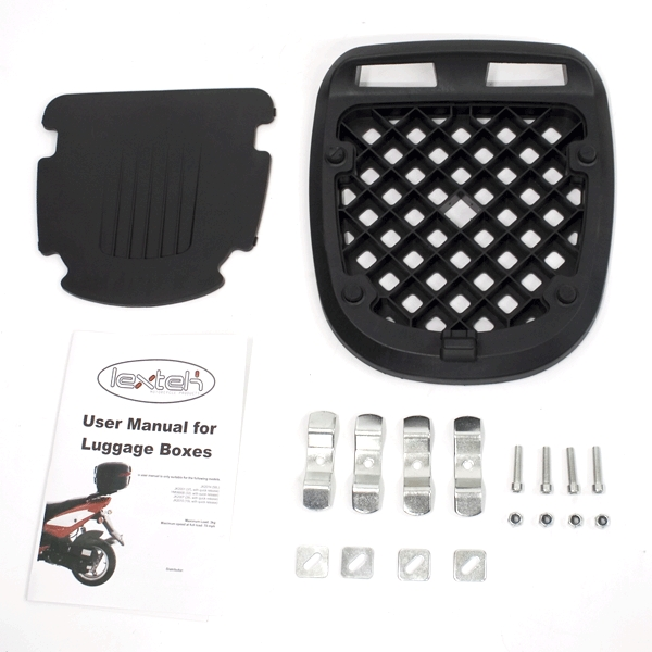 Lextek Motorcycle/Scooter Luggage Box 32L (6 for the price of 5)