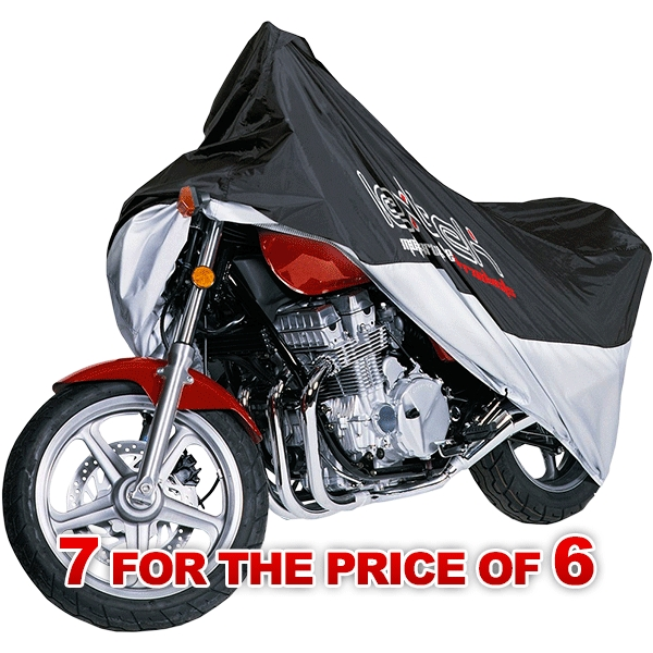 Lextek Motorcycle/Scooter Cover Small with (7 for the price of 6)